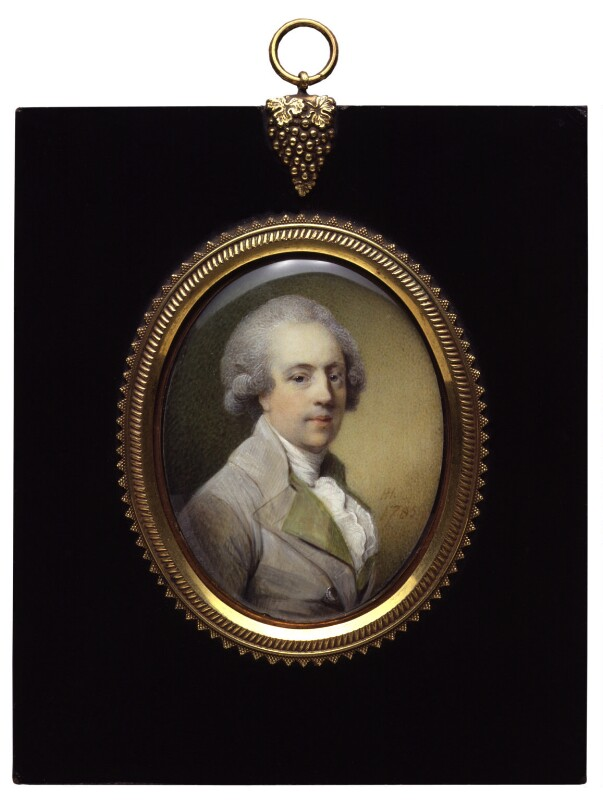 Richard Lovell Edgeworth, by Horace Hone, 1785 - NPG 5069 - © National Portrait Gallery, London