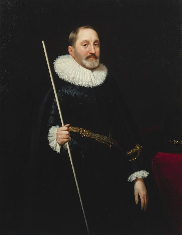 Sir Thomas Edmondes, by Daniel Mytens, 1622 - NPG 4652 - © National Portrait Gallery, London