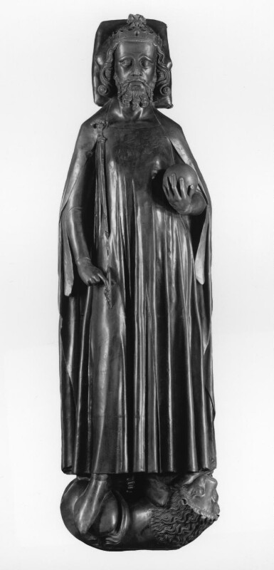 King Edward II, by Elkington & Co, cast by  Domenico Brucciani, after  Unknown artist, 1877, based on a work of circa 1330s - NPG 439 - © National Portrait Gallery, London
