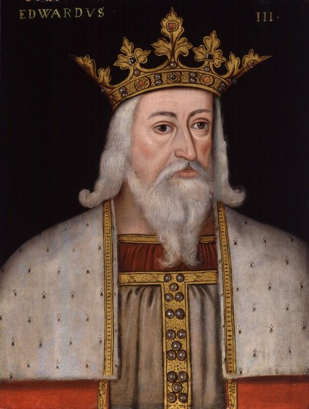 King Edward III, by Unknown artist, 1597-1618 - NPG 4980(7) - © National Portrait Gallery, London