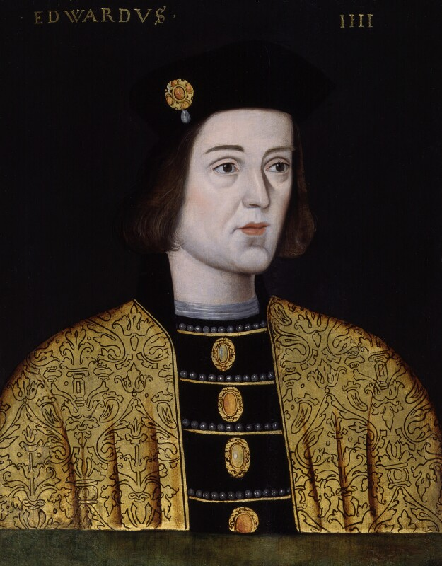 King Edward IV, by Unknown artist, 1597-1618 - NPG 4980(10) - © National Portrait Gallery, London