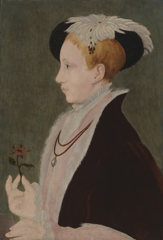 King Edward VI, by Unknown artist, after  William Scrots, circa 1546 - NPG 442 - © National Portrait Gallery, London