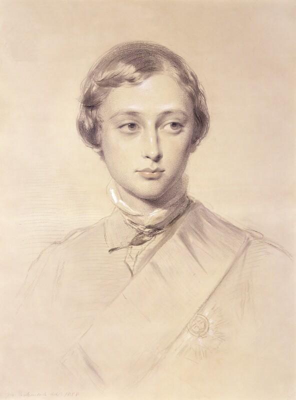 King Edward VII, by George Richmond, 1858 - NPG 5217 - © National Portrait Gallery, London