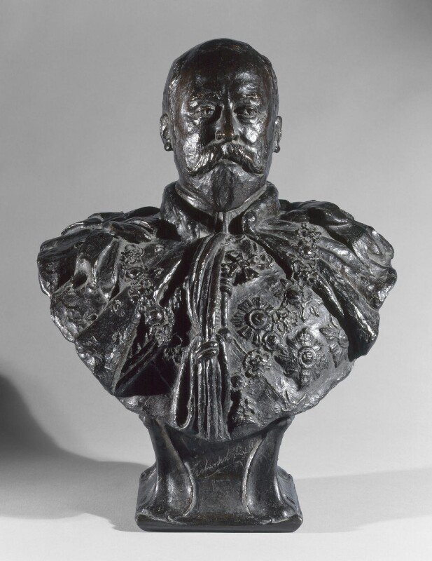 King Edward VII, by Sydney March, 1924, based on a work of 1901 - NPG 2019 - © National Portrait Gallery, London
