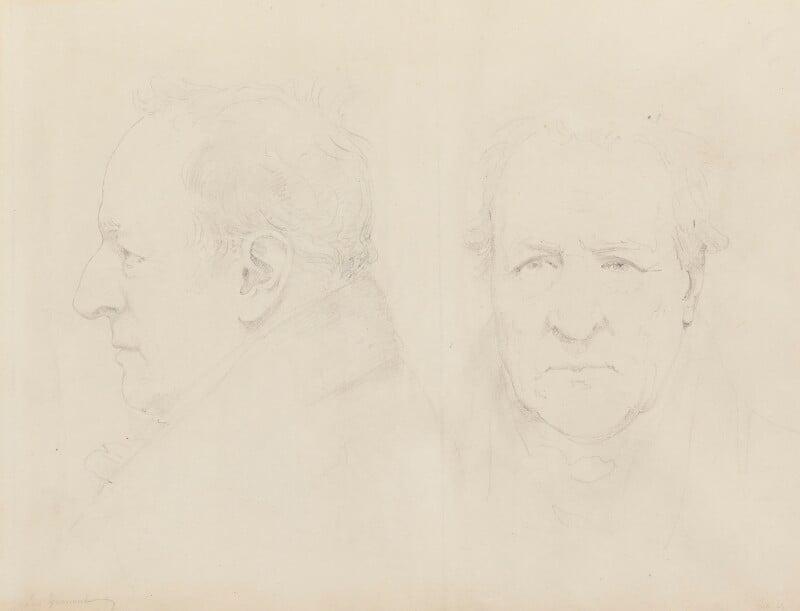 George O'Brien Wyndham, 3rd Earl of Egremont, by Sir Francis Leggatt Chantrey, 1829 - NPG 316a(43) - © National Portrait Gallery, London