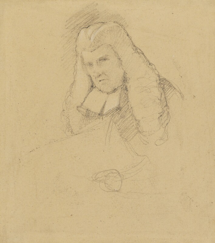 John Scott, 1st Earl of Eldon, by Sir George Hayter, 1820 -NPG 1695(l) - © National Portrait Gallery, London