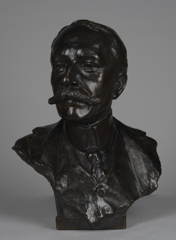 Sir Edward Elgar, Bt, by Percival Hedley, 1905 - NPG 2219 - © National Portrait Gallery, London