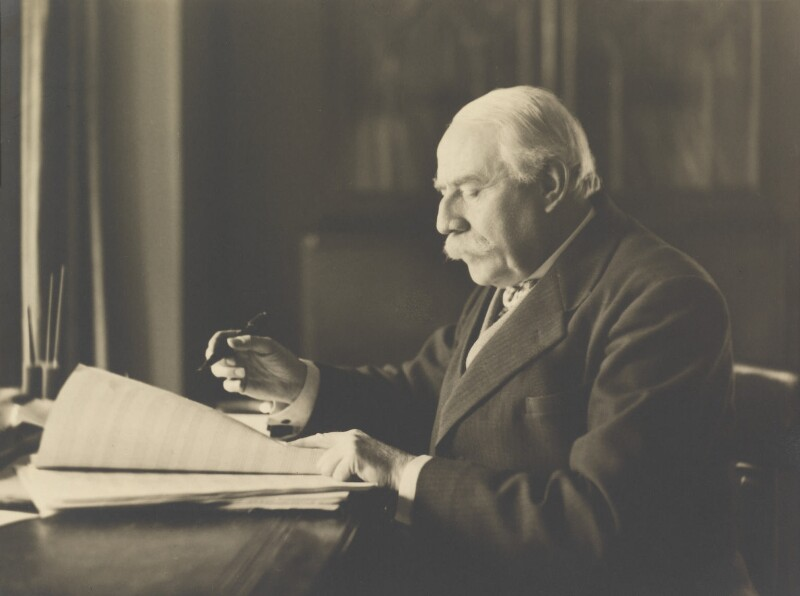 Sir Edward Elgar, Bt, by Herbert Lambert, 1933 - NPG P107 - © National Portrait Gallery, London