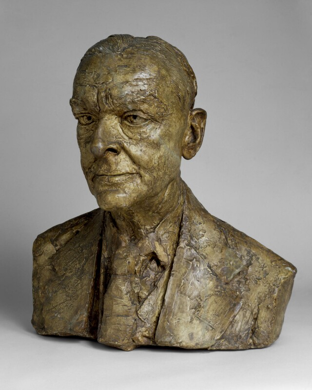 T.S. Eliot, by Jacob Epstein, 1951 - NPG 4440 - Photograph © National Portrait Gallery, London