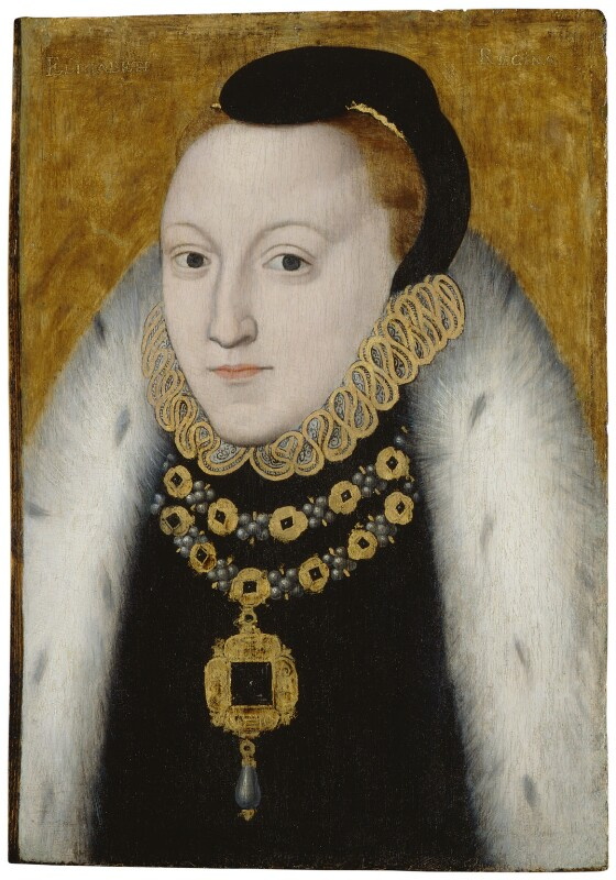 Queen Elizabeth I, by Unknown English artist, circa 1560 - NPG 4449 - © National Portrait Gallery, London
