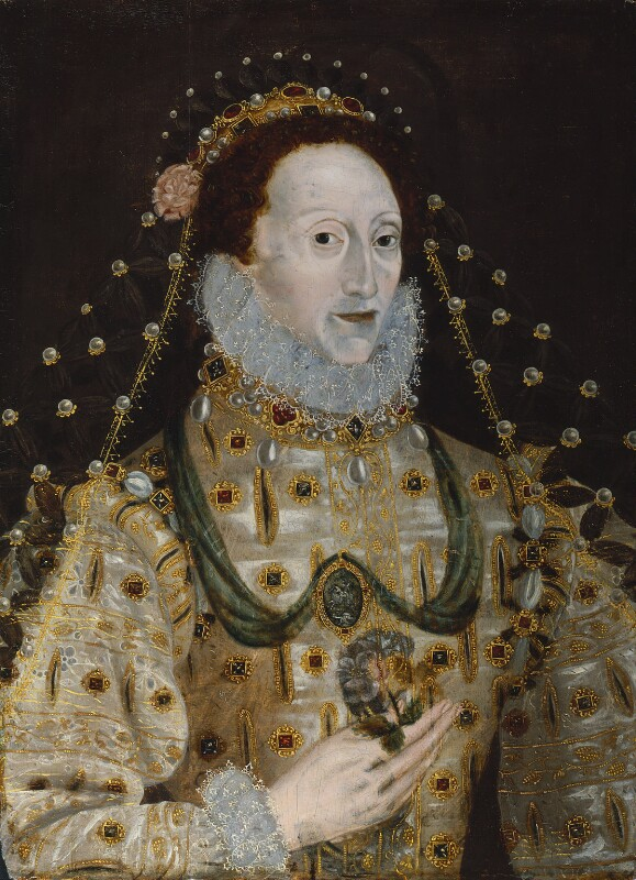 Queen Elizabeth I, by Unknown artist, 1580s-1590s - NPG 200 - © National Portrait Gallery, London