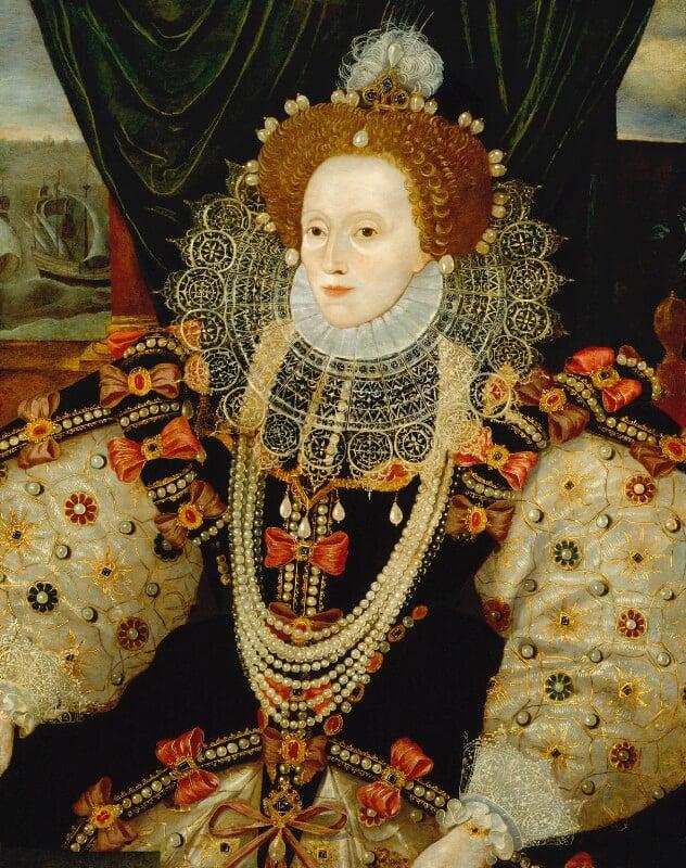 Queen Elizabeth I, by Unknown English artist, circa 1588 - NPG 541 - © National Portrait Gallery, London
