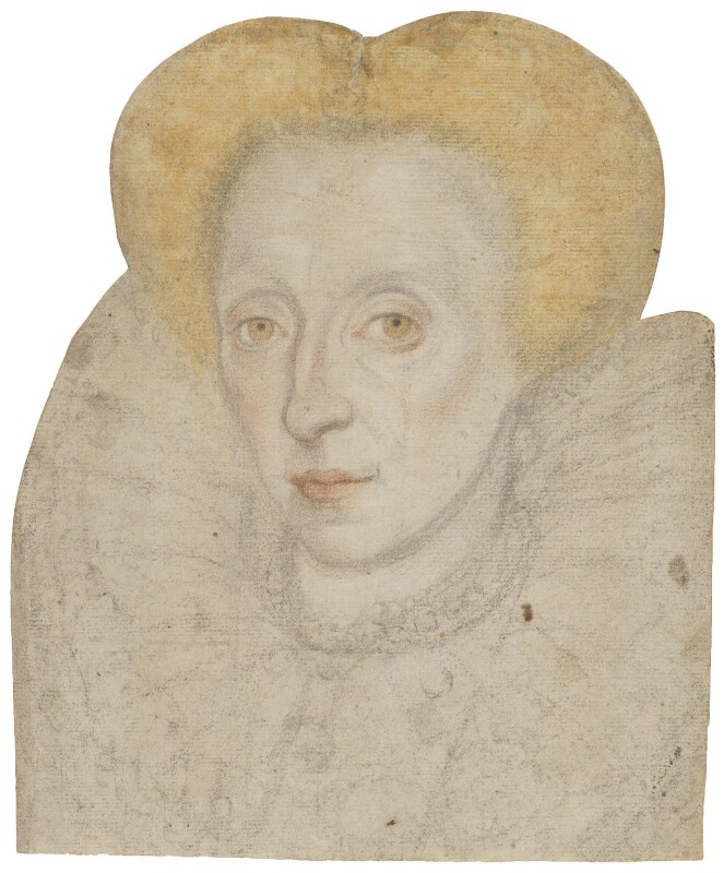 Unknown woman, possibly Queen Elizabeth I, by Unknown artist, circa 1595 - NPG 2825 - © National Portrait Gallery, London