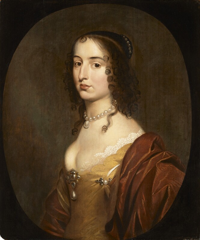 Elizabeth, Princess of the Palatinate, studio of Gerrit van Honthorst, mid 17th century - NPG 340 - © National Portrait Gallery, London