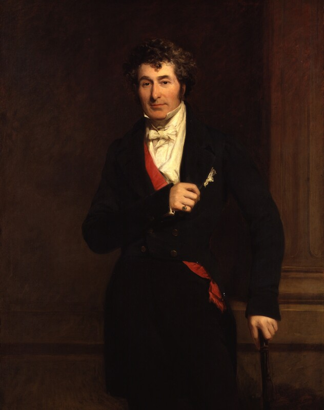 Edward Law, 1st Earl of Ellenborough, by Frederick Richard Say, circa 1845 - NPG 1805 - © National Portrait Gallery, London