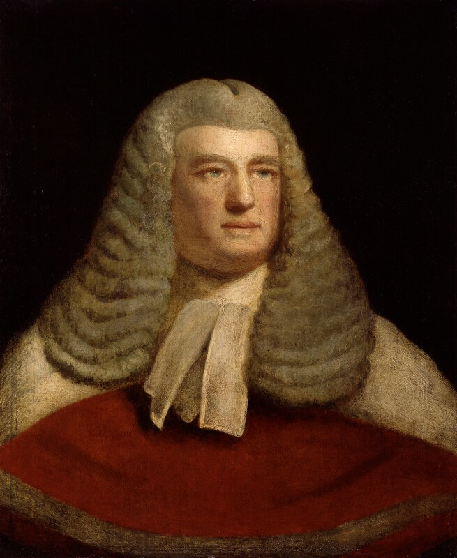 Edward Law, 1st Baron Ellenborough, by Samuel Drummond, exhibited 1816 - NPG 1123 - © National Portrait Gallery, London
