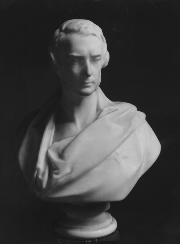 Francis Egerton, 1st Earl of Ellesmere, by Matthew Noble, circa 1858 - NPG 2203 - © National Portrait Gallery, London