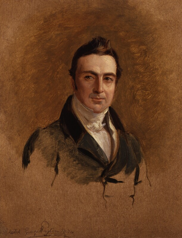 Sir George Elliot, by Sir George Hayter, 1834 -NPG 2511 - © National Portrait Gallery, London