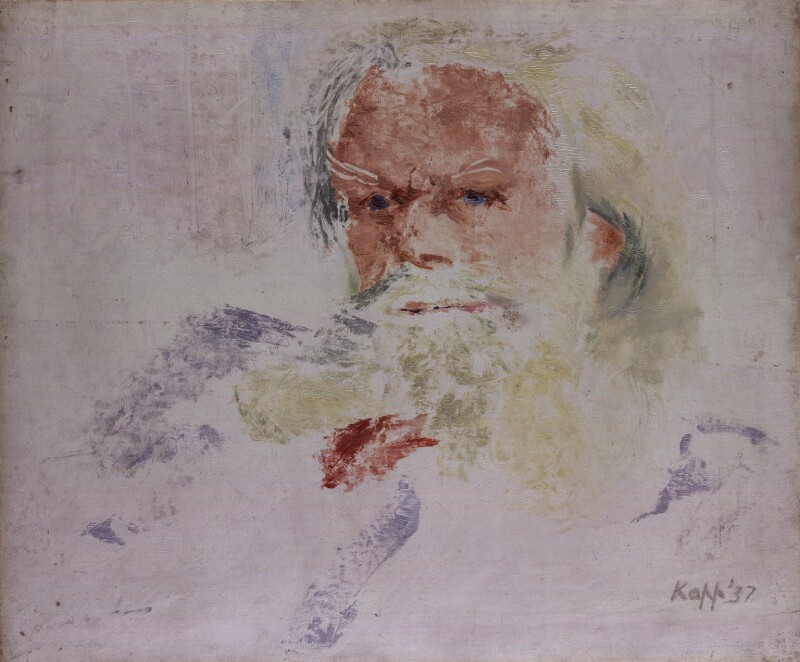 Henry Havelock Ellis, by Edmond Xavier Kapp, 1937 -NPG 5242 - © estate of Edmond Xavier Kapp