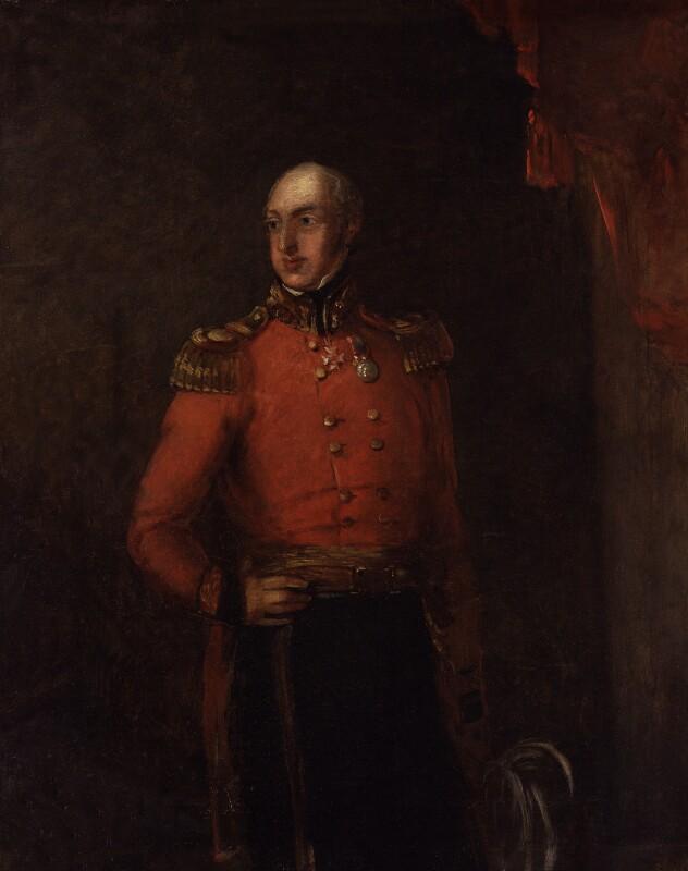 William George Keith Elphinstone, by William Salter, 1836-1839 - NPG 3714 - © National Portrait Gallery, London