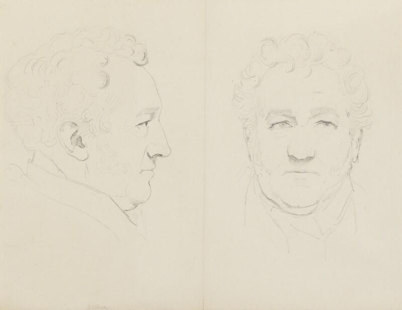 Mr Elwin, by Sir Francis Leggatt Chantrey, circa 1824 - NPG 316a(46) - © National Portrait Gallery, London