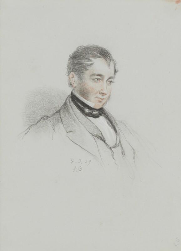 Charles Enderby, by William Brockedon, 1849 - NPG 2515(104) - © National Portrait Gallery, London