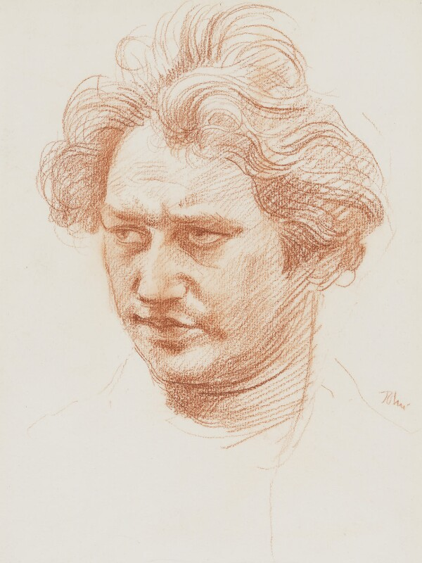 Jacob Epstein, by Augustus Edwin John, circa 1900 - NPG 4119 - © National Portrait Gallery, London