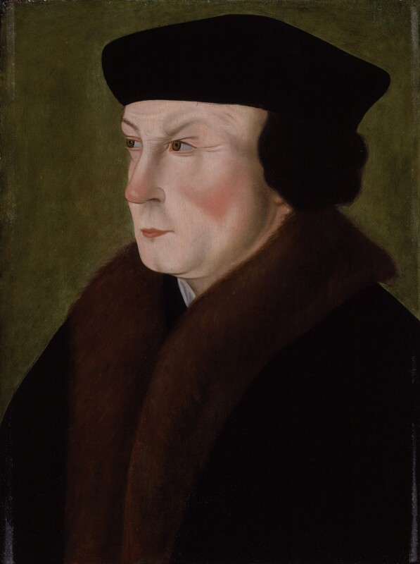 Thomas Cromwell, Earl of Essex, after Hans Holbein the Younger, 16th century - NPG 1083 - © National Portrait Gallery, London