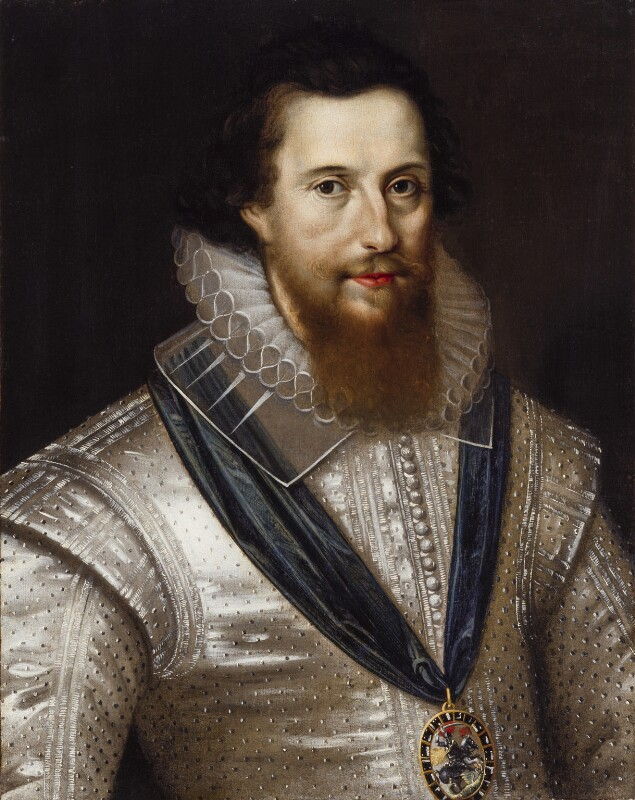 Robert Devereux, 2nd Earl of Essex, after Marcus Gheeraerts the Younger, early 17th century, based on a work of circa 1596 - NPG 180 - © National Portrait Gallery, London