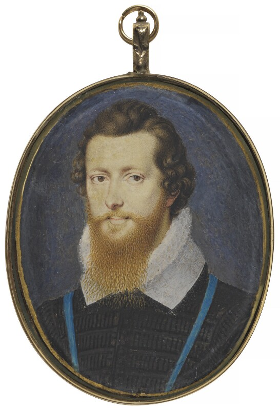 Robert Devereux, 2nd Earl of Essex, by Isaac Oliver, after 1596 - NPG 4966 - © National Portrait Gallery, London