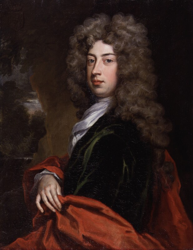 Algernon Capel, 2nd Earl of Essex, by Sir Godfrey Kneller, Bt, 1705 - NPG 3207 - © National Portrait Gallery, London