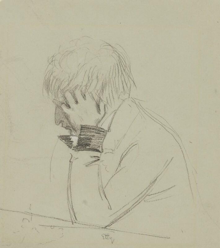 William Etty, by Charles Hutton Lear, 1845 -NPG 1456(8) - © National Portrait Gallery, London
