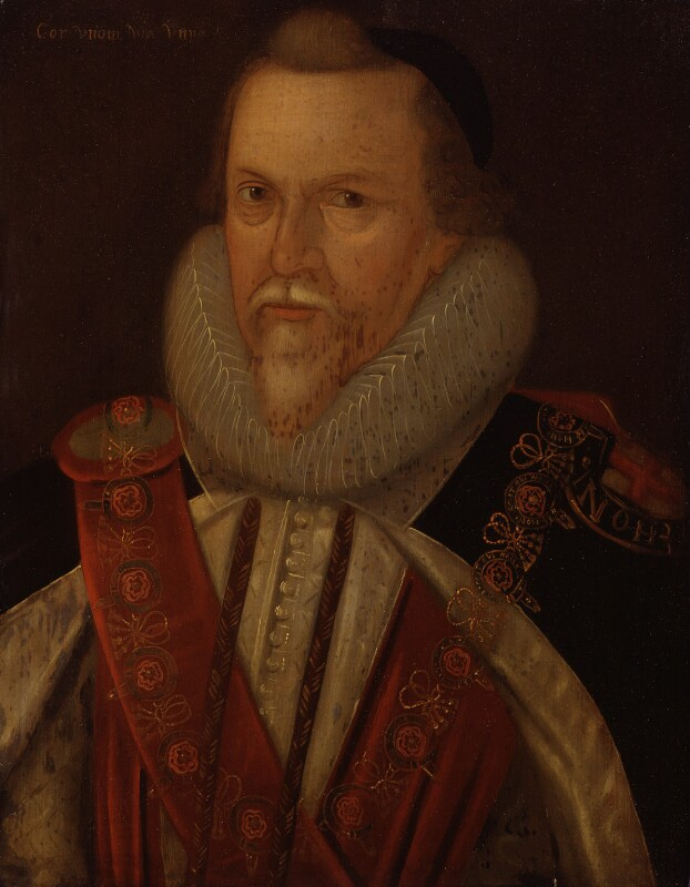 Thomas Cecil, 1st Earl of Exeter, by Unknown artist, early 17th century - NPG 567 - © National Portrait Gallery, London