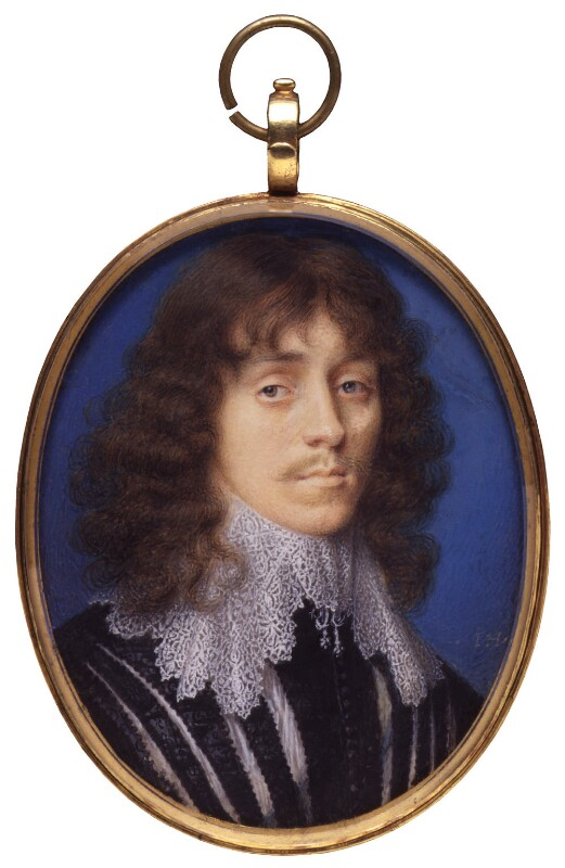 Lucius Cary, 2nd Viscount Falkland, attributed to John Hoskins, 1630s - NPG 6304 - © National Portrait Gallery, London