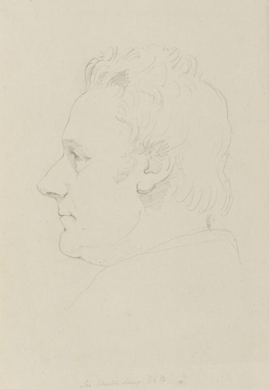 Charles Long, 1st Baron Farnborough, by Sir Francis Leggatt Chantrey, 1819 - NPG 316a(79) - © National Portrait Gallery, London