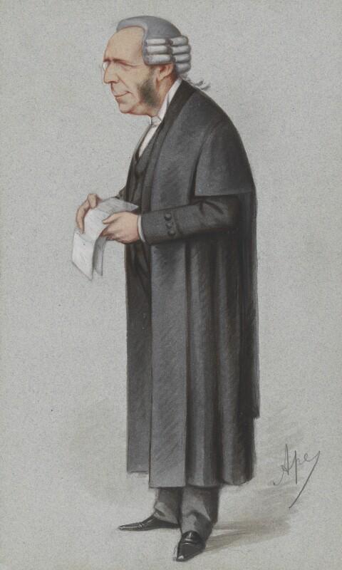 Thomas Erskine May, 1st Baron Farnborough, by Carlo Pellegrini, published in Vanity Fair 6 May 1871 - NPG 2712 - © National Portrait Gallery, London