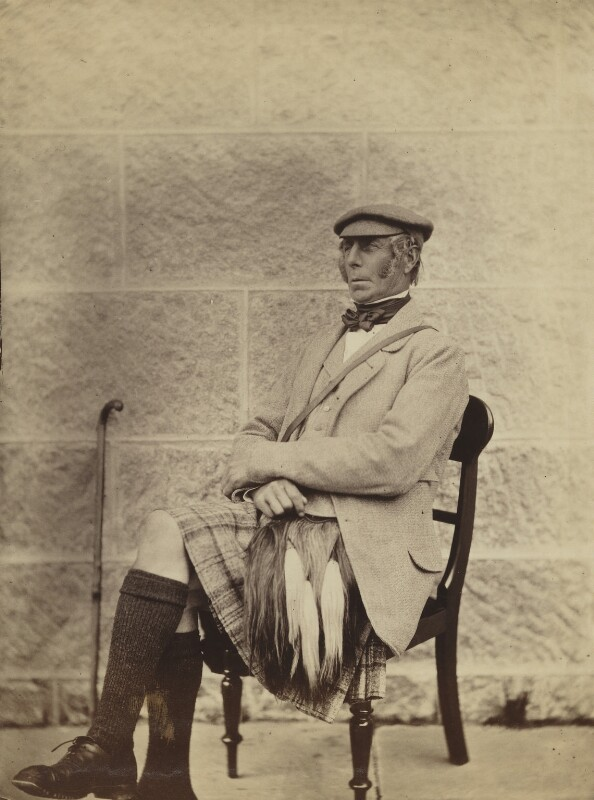 Peter Farquarson, by George Washington Wilson, 1860 - NPG P22(18) - © National Portrait Gallery, London