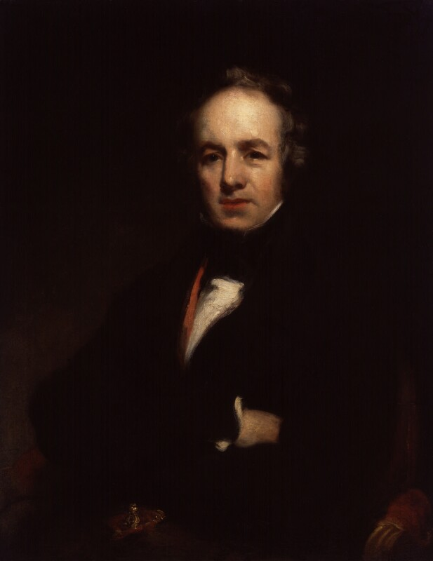 William Farren, by Richard Rothwell, circa 1829 -NPG 1440 - © National Portrait Gallery, London