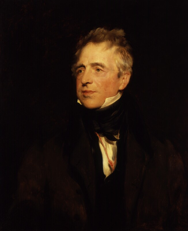 John Fawcett, begun by Sir Thomas Lawrence, 1828 - NPG 692 - © National Portrait Gallery, London
