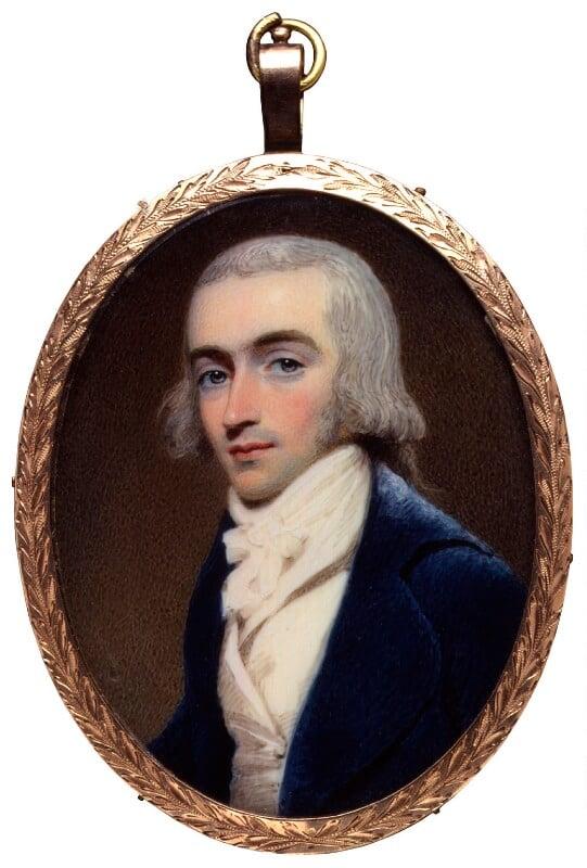 Robert Fellowes, by Henry Edridge, circa 1800 -NPG 6298 - © National Portrait Gallery, London