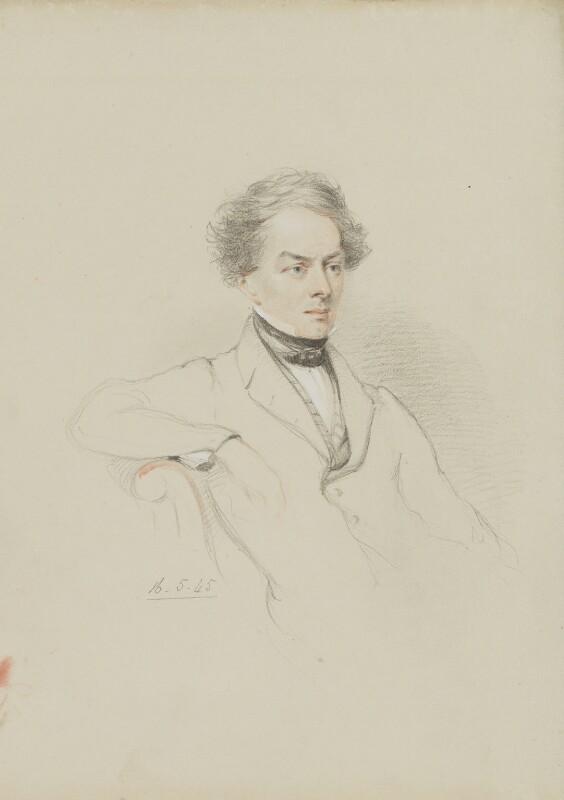 Sir Charles Fellows, by William Brockedon, 1845 - NPG 2515(97) - © National Portrait Gallery, London
