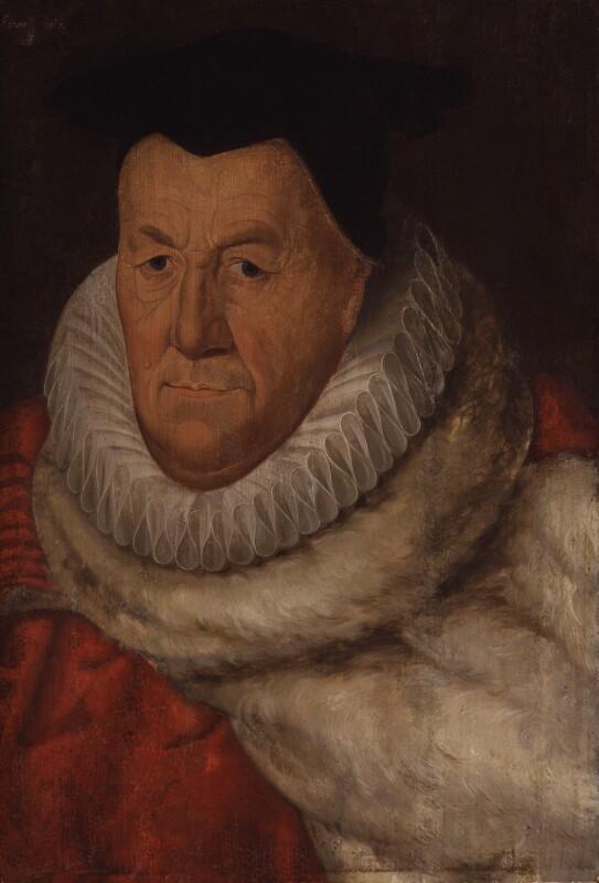 Sir Edward Fenner, by Unknown artist, 1608 - NPG 4958 - © National Portrait Gallery, London