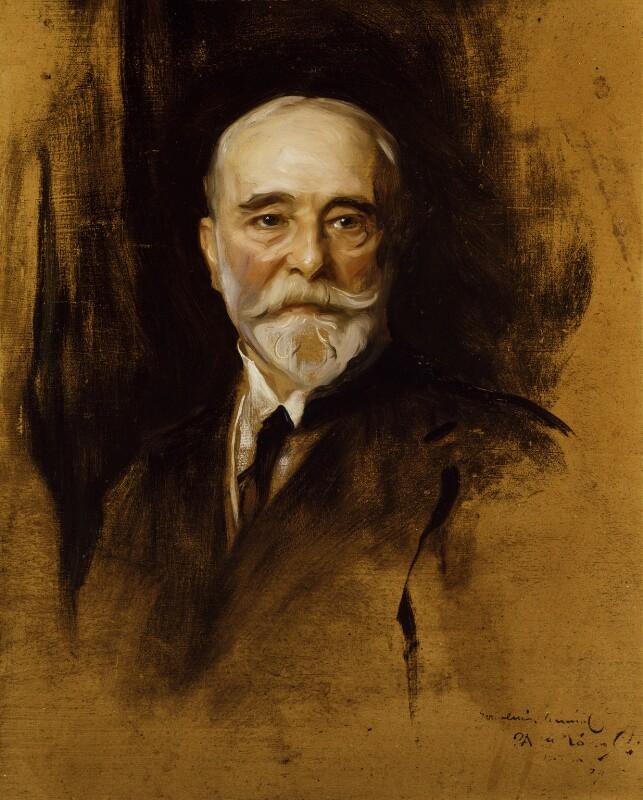 Luke Fildes, by Philip Alexius de László, 1914 - NPG 4960 - © National Portrait Gallery, London
