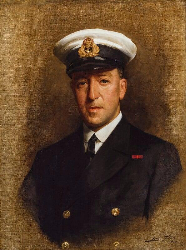 Sir Paul Fildes, by Sir (Samuel) Luke Fildes, 1919 - NPG 4843 - © National Portrait Gallery, London