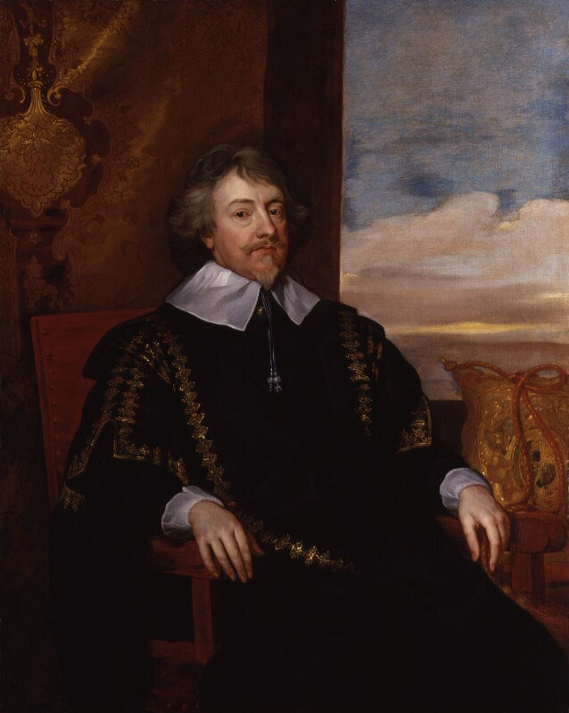 John Finch, 1st Baron Finch, possibly after Sir Anthony van Dyck, based on a work of circa 1640 - NPG 2125 - © National Portrait Gallery, London