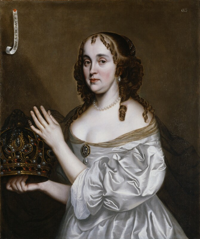 Jane (née Lane), Lady Fisher, by Unknown artist, circa 1660 - NPG 1798 - © National Portrait Gallery, London