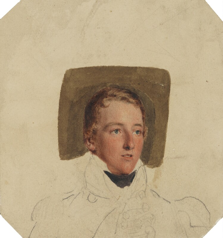 Unknown man, formerly known as Lord Charles Fitzroy, by Thomas Heaphy, 1813-1814 - NPG 4318 - © National Portrait Gallery, London