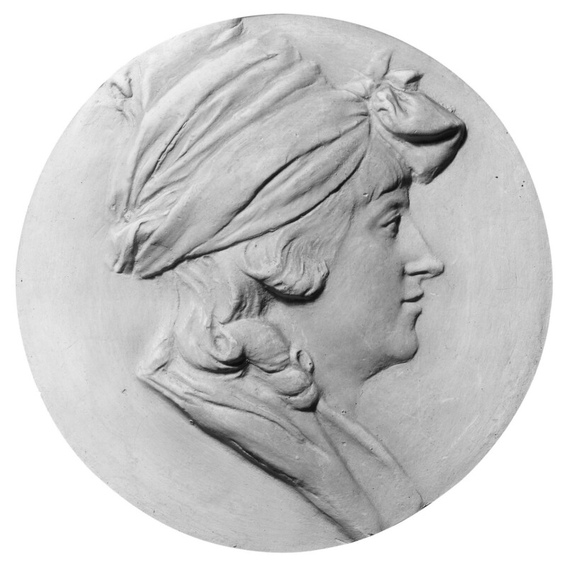 Anne Flaxman (née Denman), by John Flaxman, circa 1790-1795 - NPG 2488 - © National Portrait Gallery, London