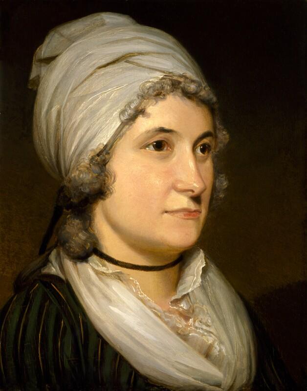 Anne Flaxman (née Denman), by Henry Howard, circa 1797 - NPG 675 - © National Portrait Gallery, London
