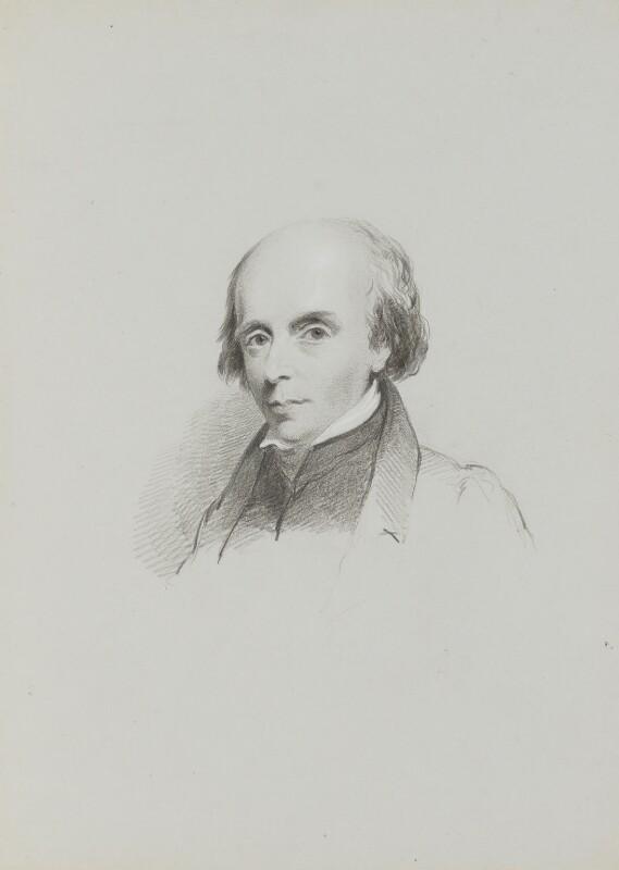 John Flaxman, by William Brockedon, early 1830s - NPG 2515(32) - © National Portrait Gallery, London